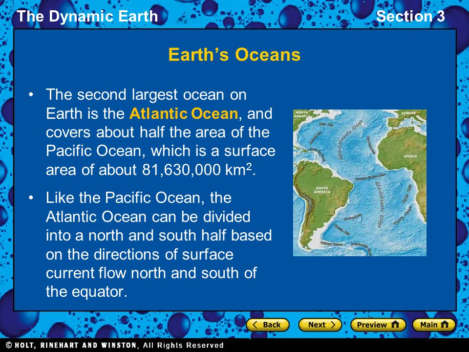 Earth's Oceans