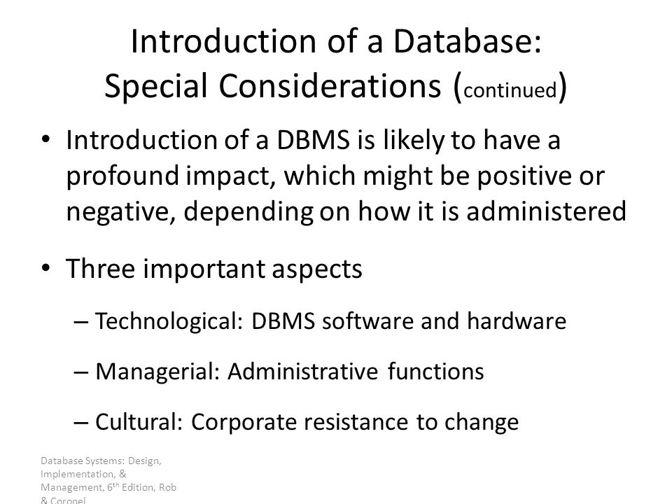Database Administration And Security Ppt Download