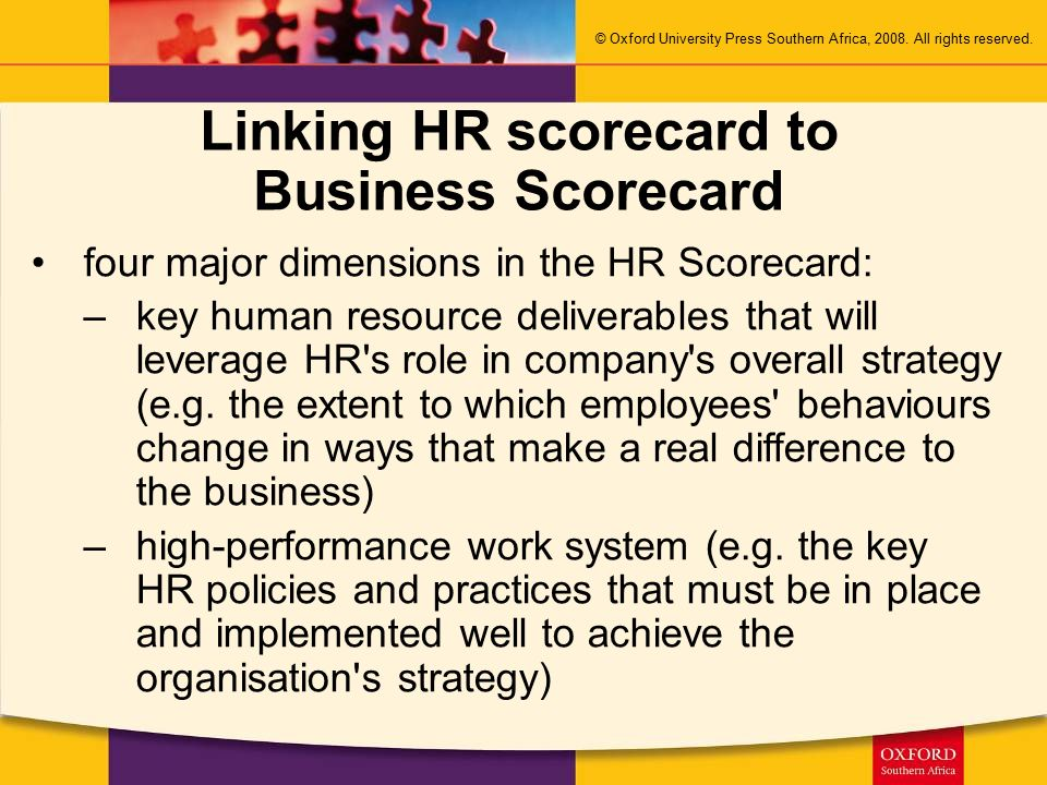 19 dimensions of an hrm system Performance appraisal: dimensions and determinants iza dp no 5623 april depends on the characteristics of the organisation and the hrm system adopted by the.