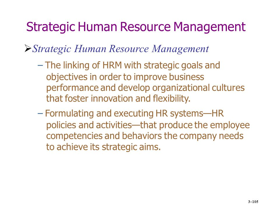 linking competitive strategies in hrm The concept of competitive advantage is described by porter as the essense of competitive strategy 10 emerging from his discussion are three competitive strategies that organizations can use to gain competitive advantage: innovation, quality enhancement, and cost reduction.