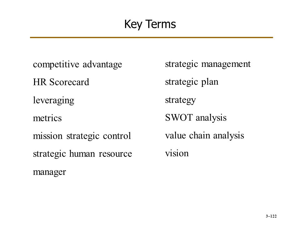 tarrif in terms of strategic management While personnel management mostly involved activities surrounding the hiring process and legal compliance, human resources involves much more, including strategic planning, which is the focus of this chapter.