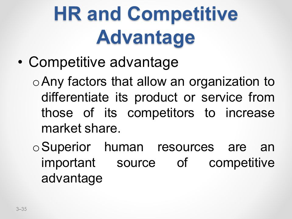 How Can HR Become a Competitive Advantage for Any Organization?