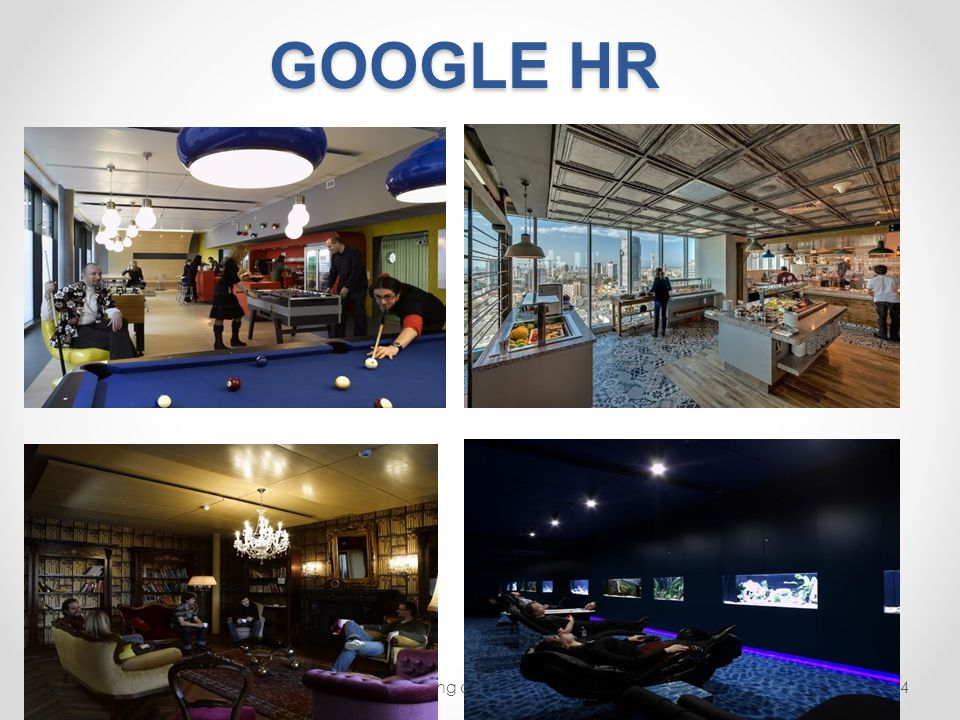 Google's HRM: Training, Performance Management