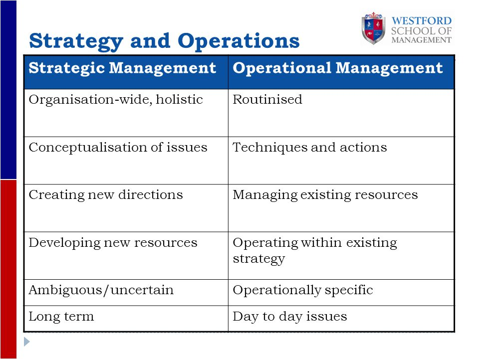 Business plan operations strategy examples