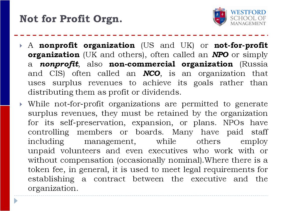 Business plan guidelines for not-for-profit organisations anniversary