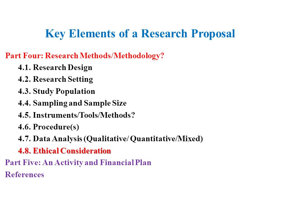 mixed methods research proposal The purpose statement is made up of three major the significance of the research you plan to carry qualitative and mixed methods research questions).
