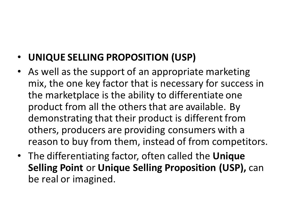 unique selling proposition of sony Unique selling proposition the world's largest in-store video rental chain entered the us online market in 2004 one third of netflix's size sony, apple.