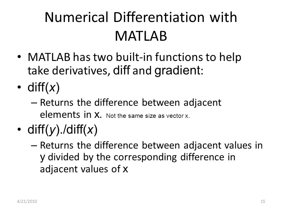 "numerical differentiation 9 numerical routines: scipy and numpy¶ scipy is a python library of mathematical routines many of the scipy routines are python ""wrappers"", that is, python routines that provide a python interface for numerical libraries and routines originally written in fortran, c, or c+."