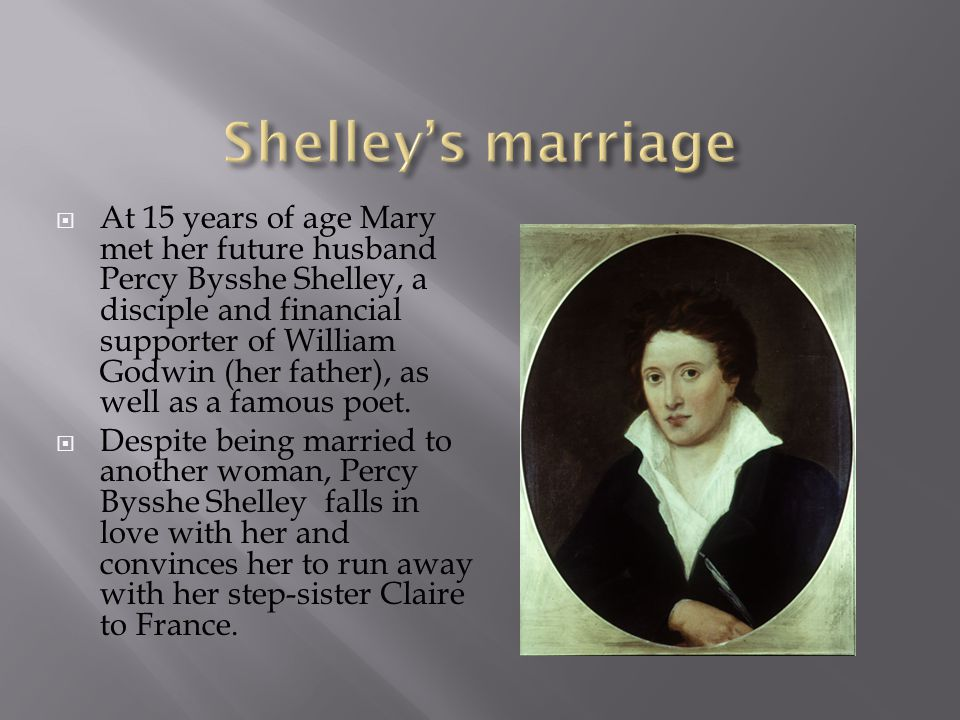 Shelley's marriage