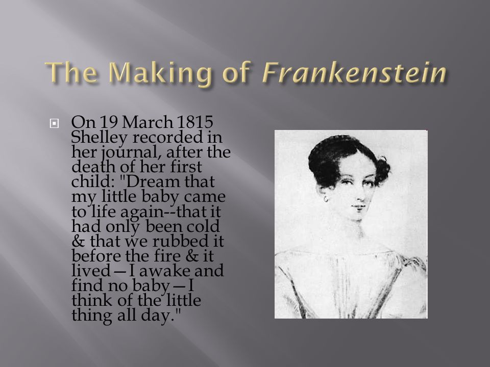 The Making of Frankenstein