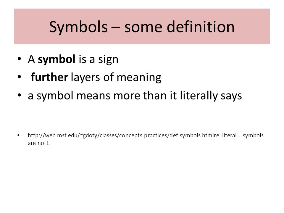 symbol in literature dr husniah sahamid ppt video online  2 symbols some definition