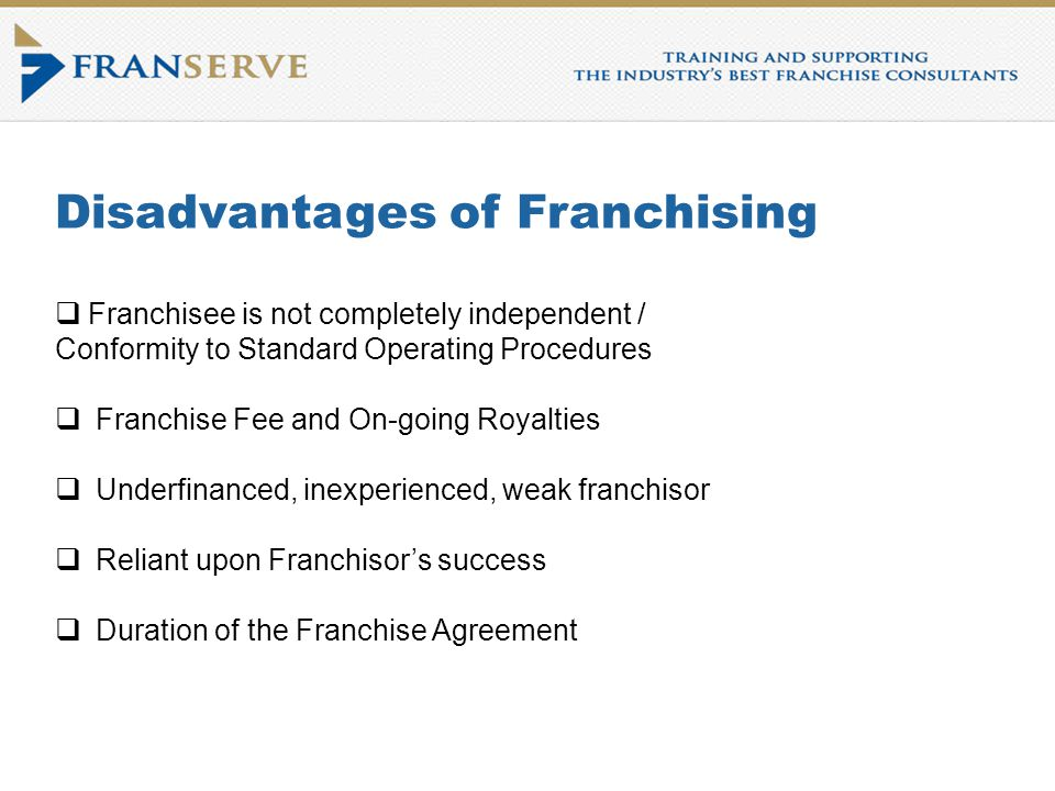 Introduction To Franchising Course Franchise Intellect