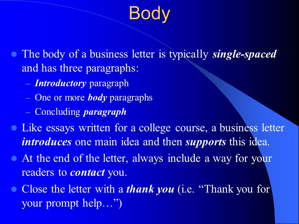 how many supporting paragraphs should the body of a personal essay include