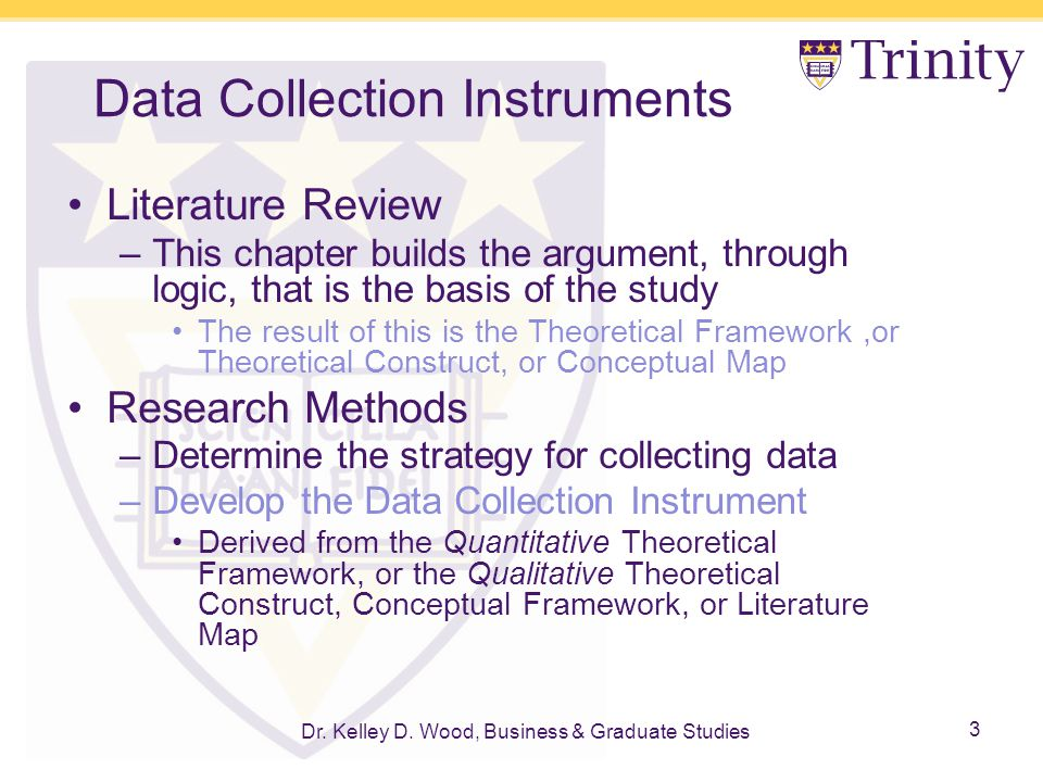 data collection method and instrument managerial research Participant observation as a data collection by a biased human who serves as the instrument for data collection research methods in.