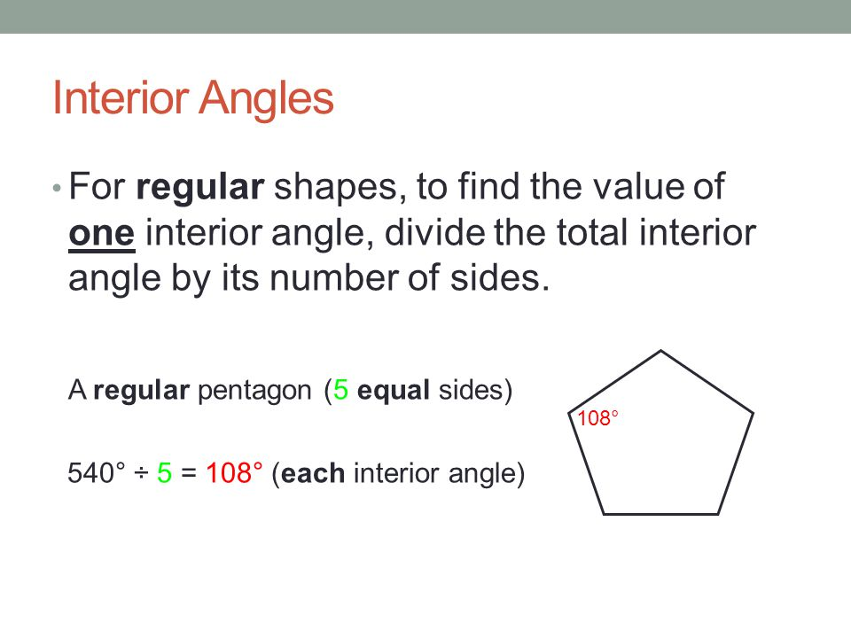 Interior Exterior Angles Ppt Download