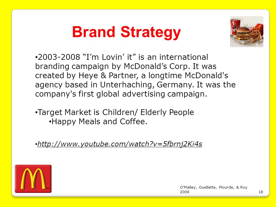 operations and business strategy of mcdonalds Mcdonald's competitive strategy - angela amor - term paper - business  the business strategy of the organization should be based upon operational.
