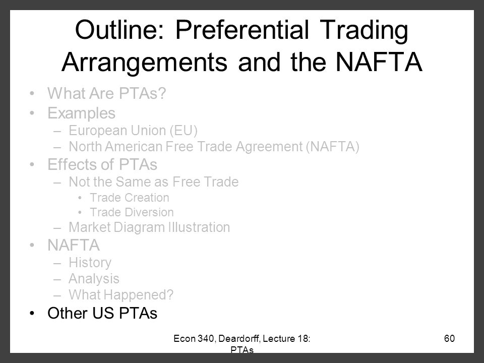 an analysis of north american free trade agreement and its effects on mexico Did nafta help mexico  the north american free trade agreement  along with some analysis of possible explanations for mexico's poor performance.