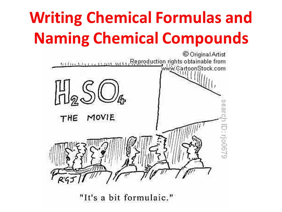 writing chemical formulas Writing formulas & names for molecular compounds / 2 metalloid) the name of this compound is silicon dioxide germanium, however, which is also a.