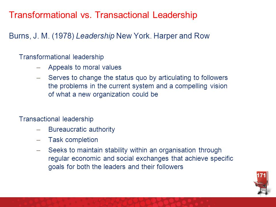 transactional vs transformational leadership pdf