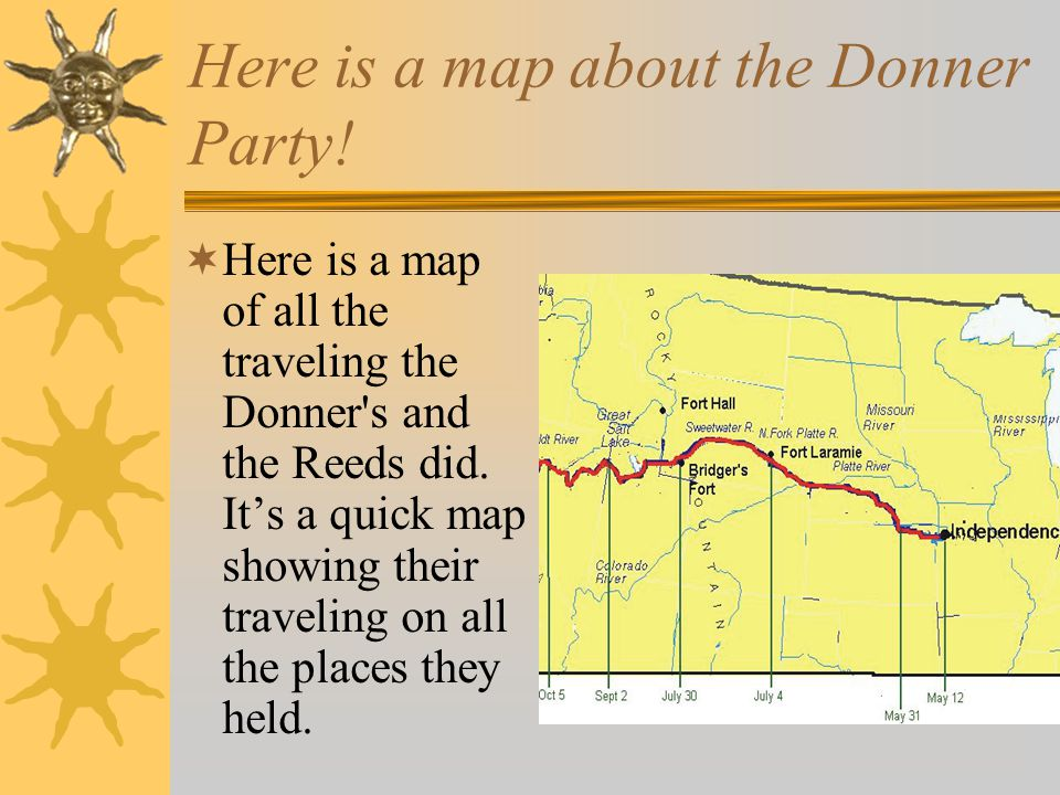 the donner party The donner party story is one of struggle, family ties, survival and tragedy evidence for donner party cannibalism includes witnesses and a journal entry.