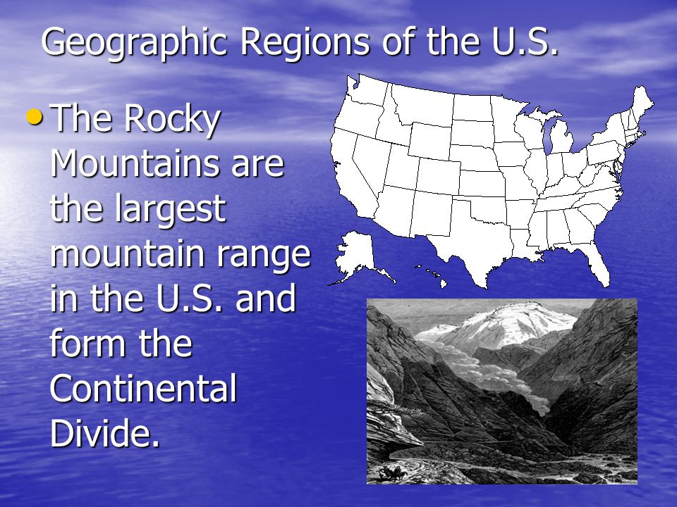 Geographic Regions of the U.S.