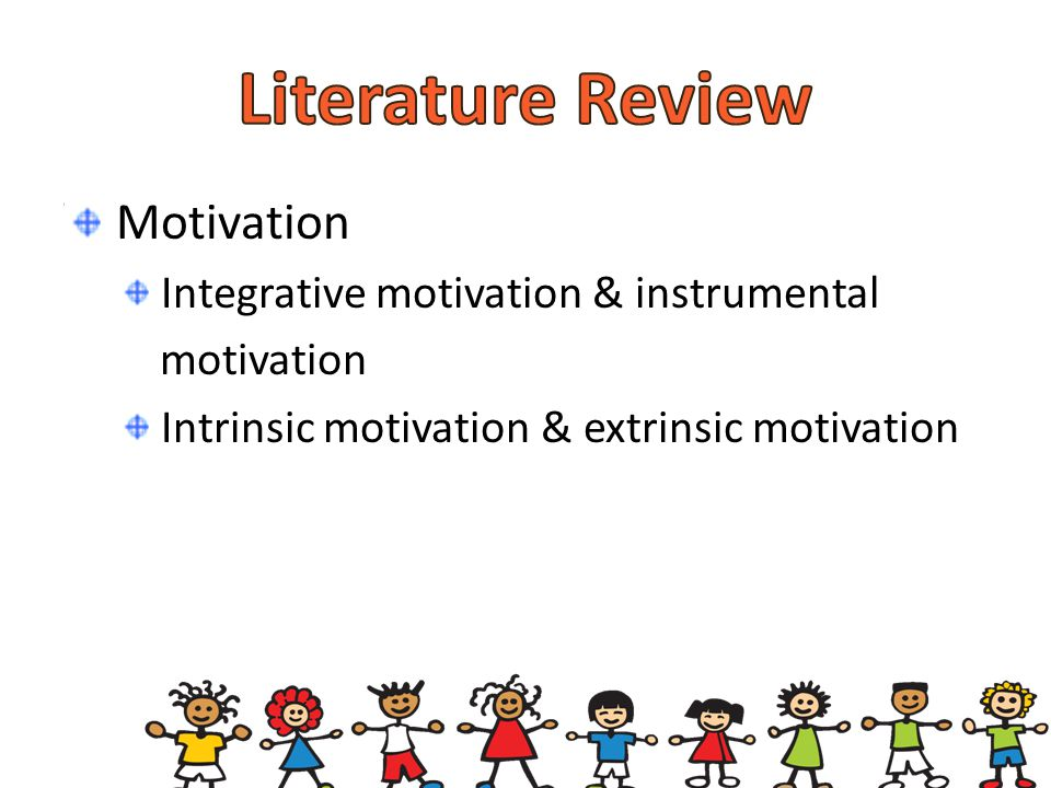 literature review on motivation of students