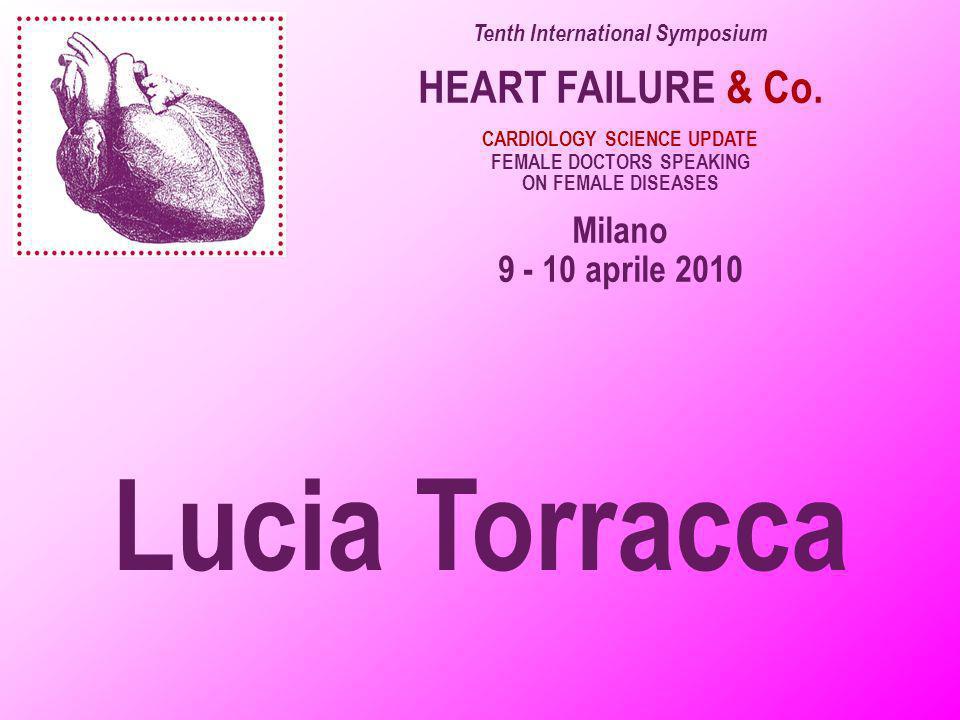 Lucia Torracca HEART FAILURE & Co. Milano 9 - 10 aprile 2010