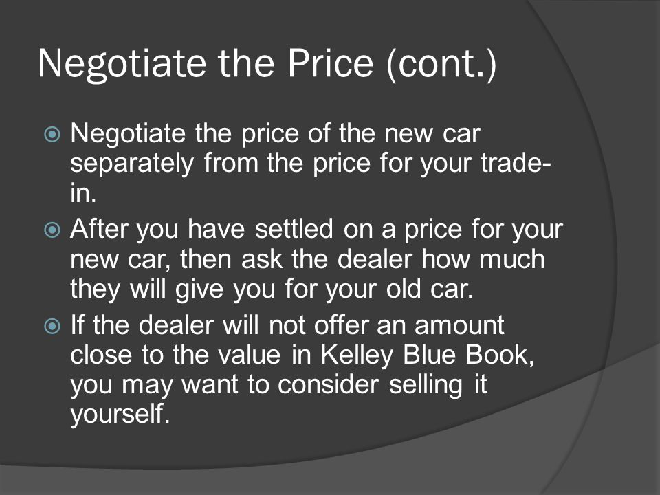 Steps in the Car Buying Process - ppt download