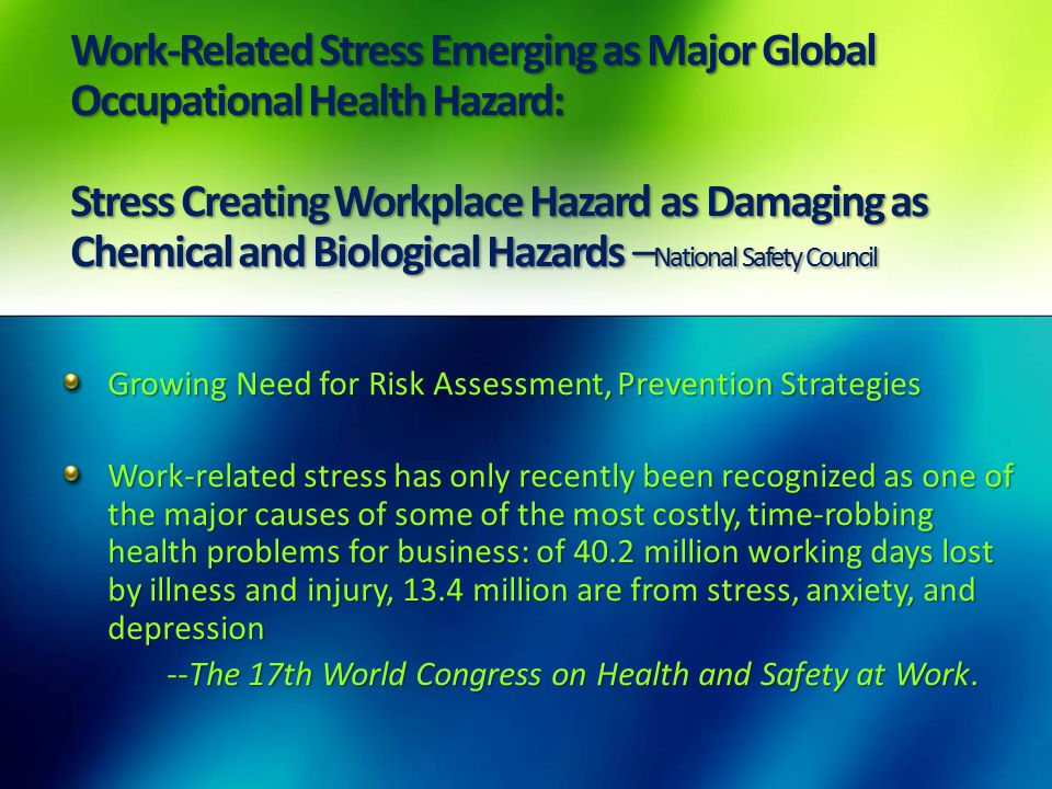 Top Causes for Workplace Injuries