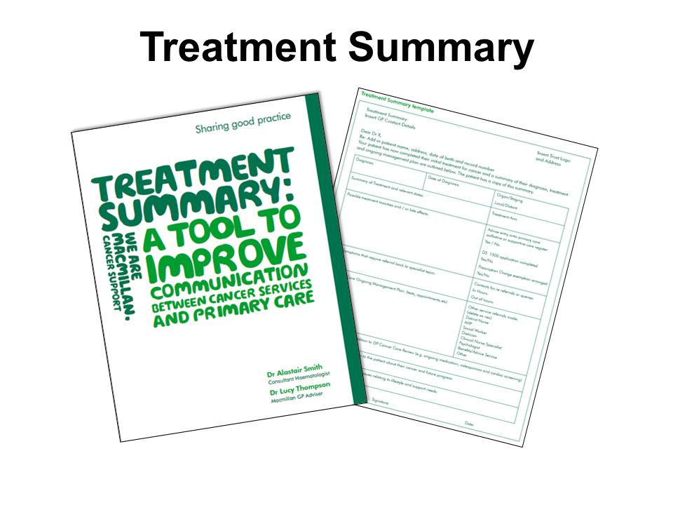 Macmillan Cancer Support Recovery Package Change Project