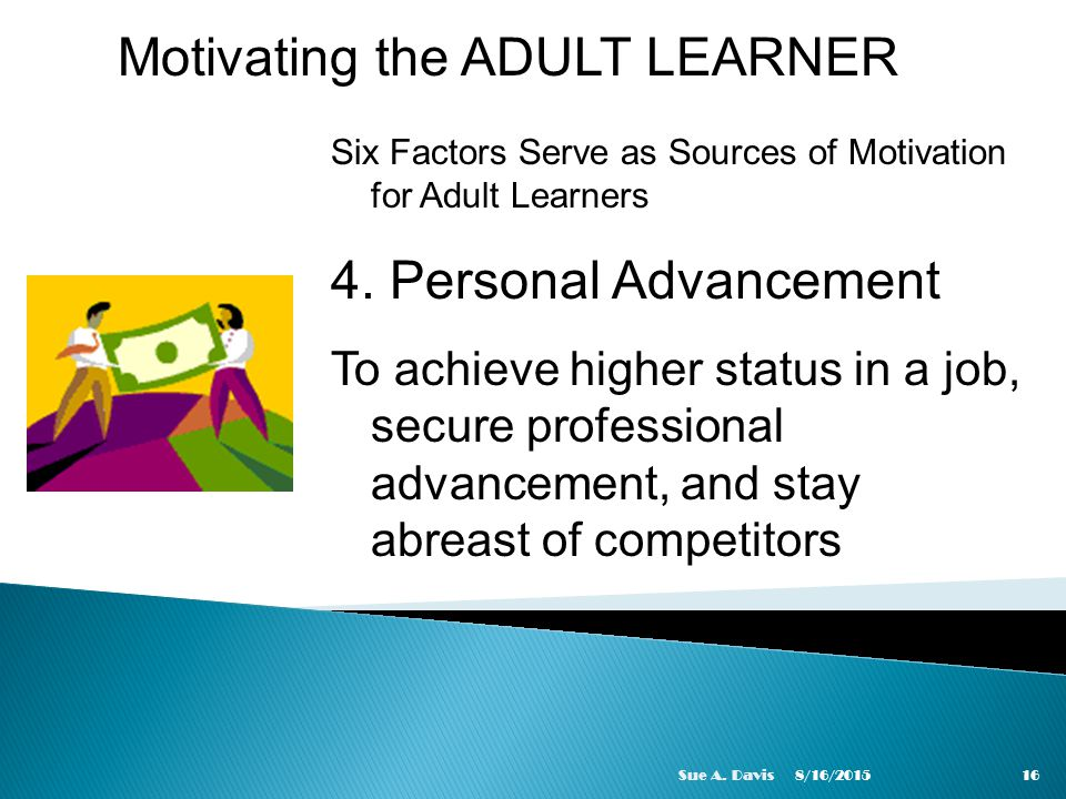 All motivation styles for adult learners