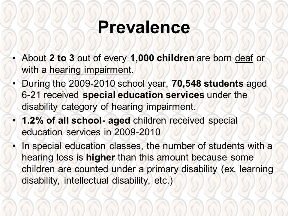 hearing impairment deafness and hearing loss