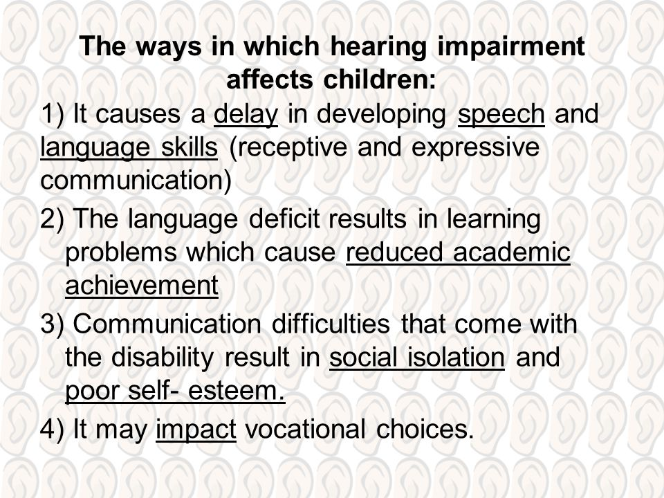 impact of speech language and communication difficulties 13: describe the potential impact of speech, language and communication difficulties on the overall development of a child, both currently and in the longer term.