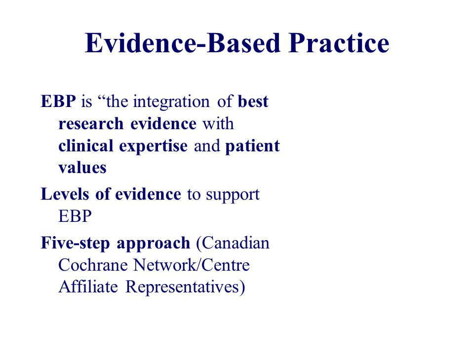 integration of evidence based practice into professional Evidence-based practice (ebp) has emerged as an important principle in the  delivery of  asha uses the following definition of ebp: the integration of  research  to provide high-quality professional services, including knowledge  and skills.