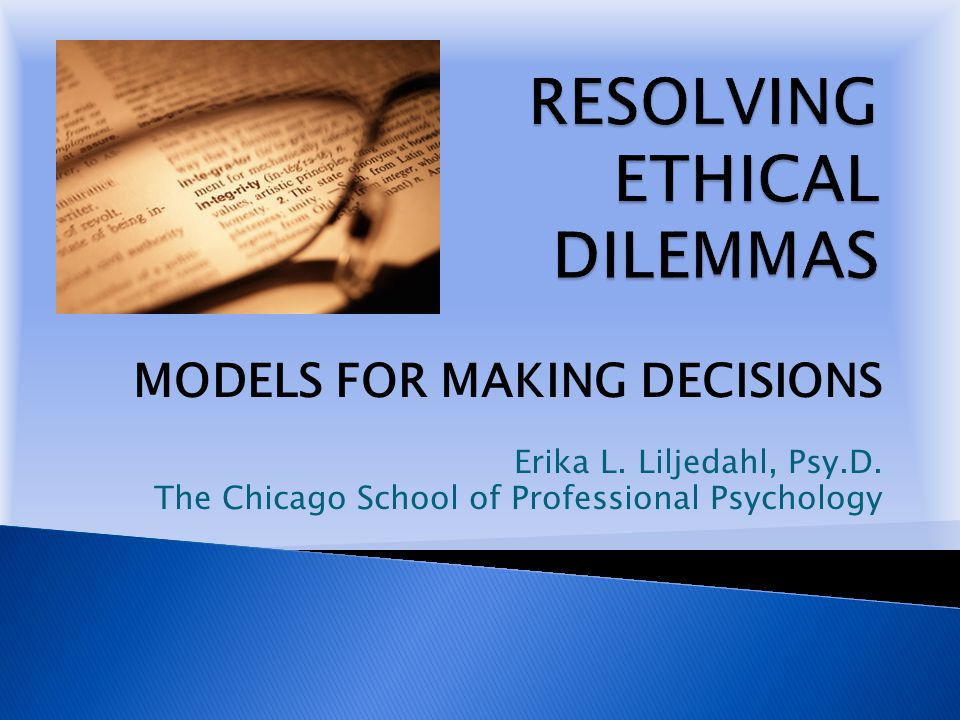 two ethical dilemmas facing a profession As we have written in naeyc books about professional ethics, when faced with a   if you answer yes to any of the items, you are facing an ethical issue.