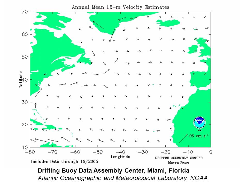 Drifting Buoy Data Assembly Center, Miami, Florida