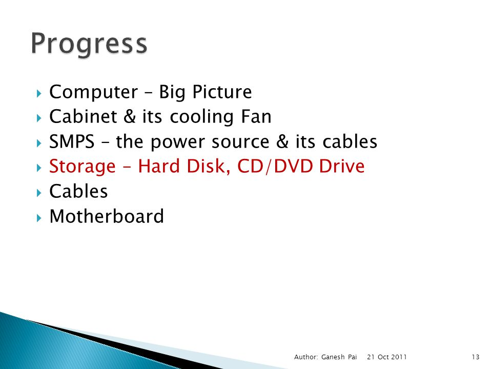 Progress Computer – Big Picture Cabinet & its cooling Fan