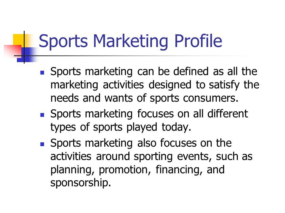 chapter 3 the sports market ppt video online download. Black Bedroom Furniture Sets. Home Design Ideas