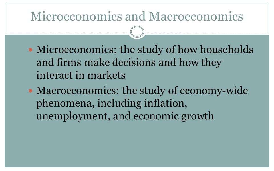 mircoeconomics article response