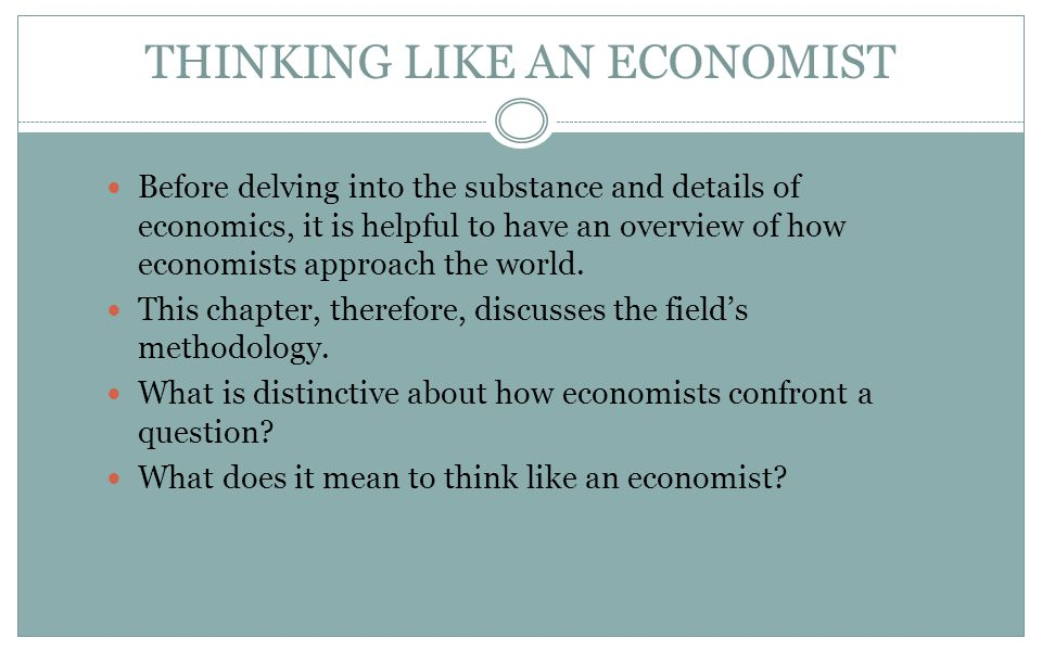 thinking like an economist Thinking like an economist  why the ppf might be bow-shaped mountain bikes beer as the economy shifts resources from beer to mountain bikes:.