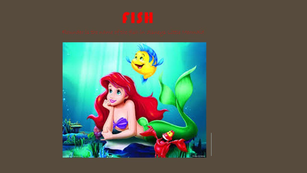 Cartoon zoology tiarra abram ppt download for Disney fish names