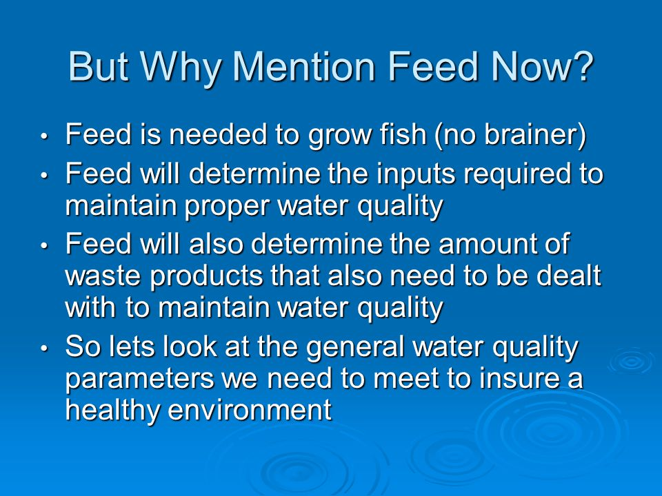 Bowling green satellite aquaculture center ppt video for Feed and grow fish free no download