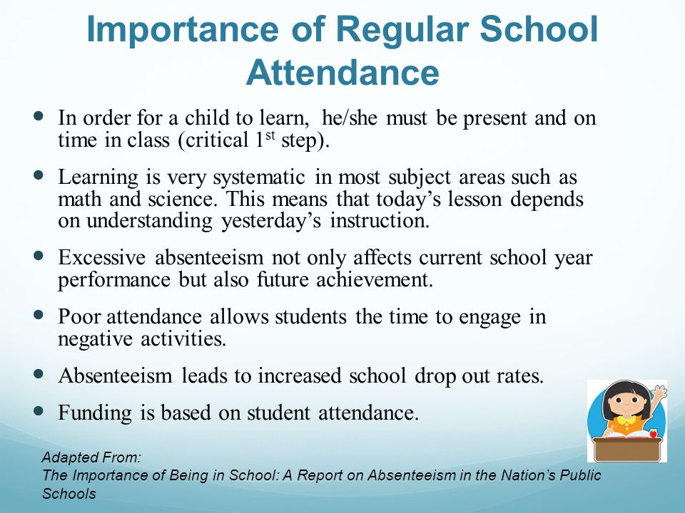 importance of being on time in school 4 easy steps to teaching children the importance #2- another way to teach our children the importance of going to school if we do not spend time being.