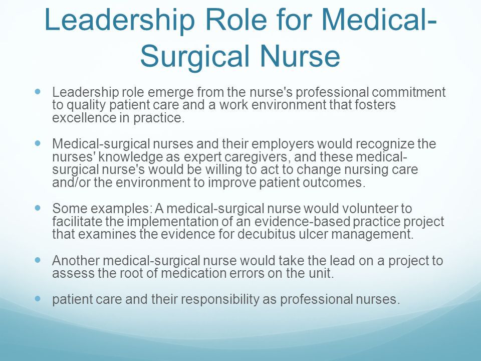role and responsibility of the nurse Key among these frameworks is the scope of nursing and midwifery practice it  represents the range of roles, functions, responsibilities and professional.