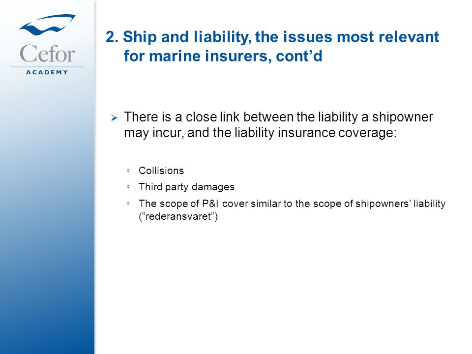 SHIP AND LIABILITY – an introduction to Norwegian Maritime ...
