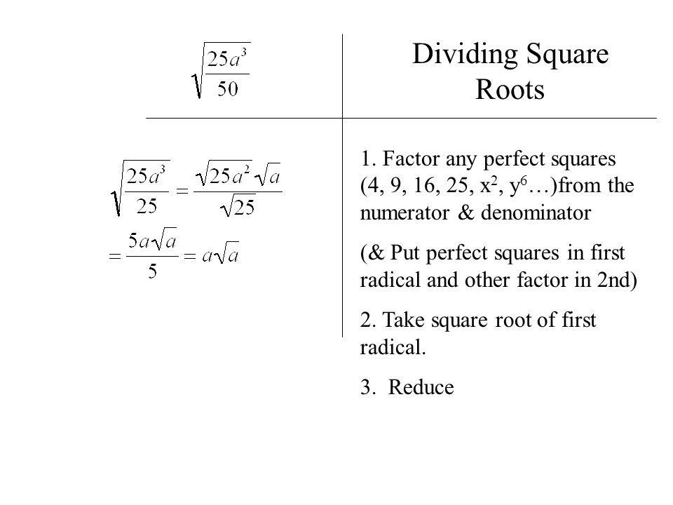 math worksheet : radical expressions  ppt video online download : Dividing Square Roots