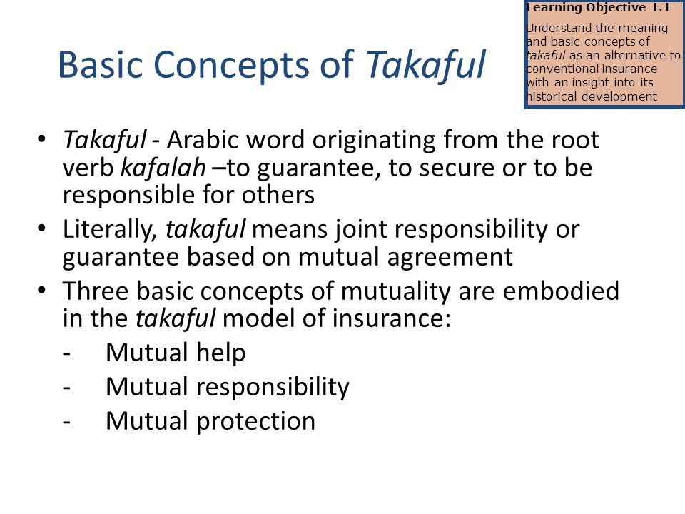 Basic Concepts Of Takaful Ppt Video Online Download