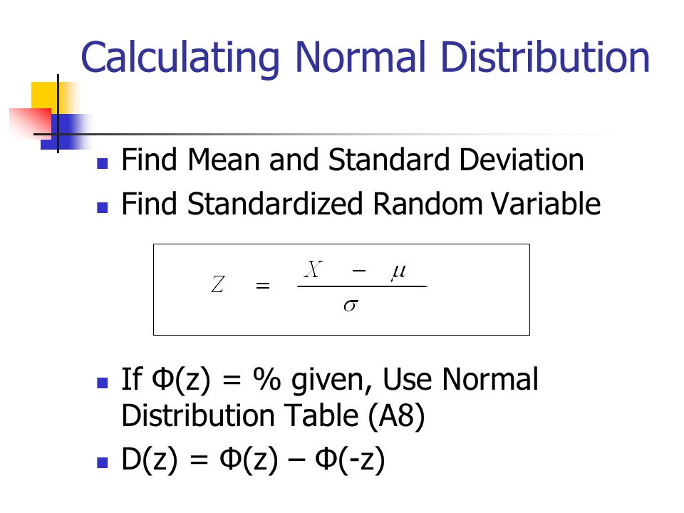Continuous probability distributions ppt video online for 99 normal table