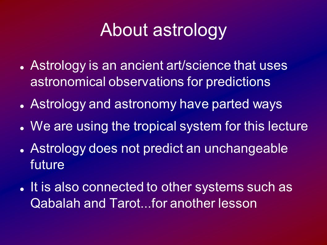 Astrology 201 how to interpret a birth chart pt1 ppt video about astrology astrology is an ancient artscience that uses astronomical observations for predictions 5 some points about birth charts nvjuhfo Images