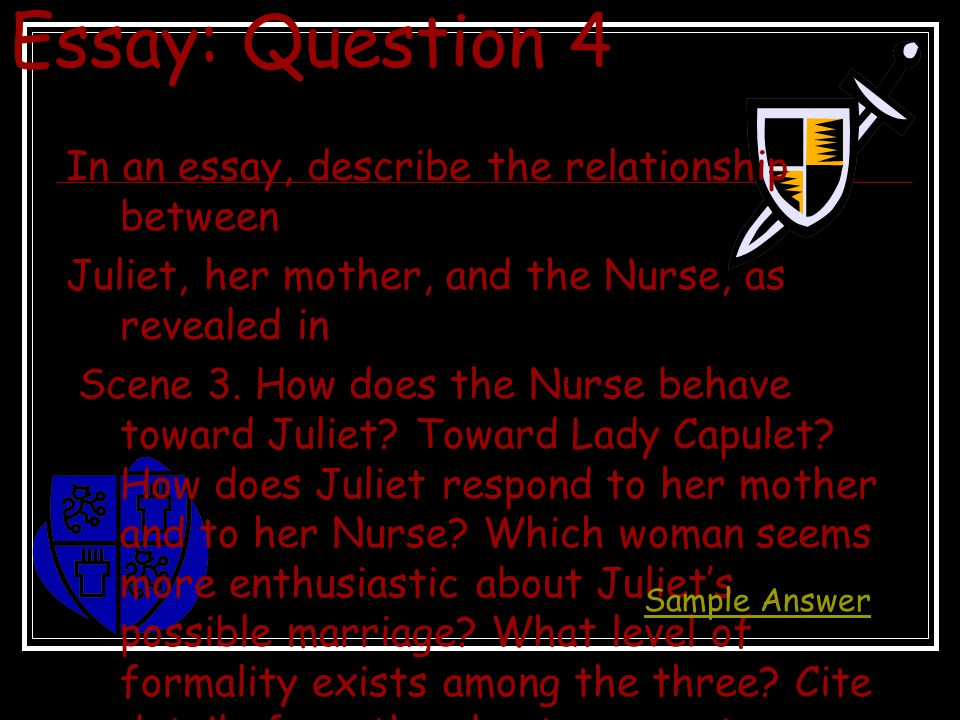 lord capulet essays Free essay: it is lord capulet's unsupportive and inadequate parenting along with his insensitivity regarding juliet's feeling and emotions which drives her.